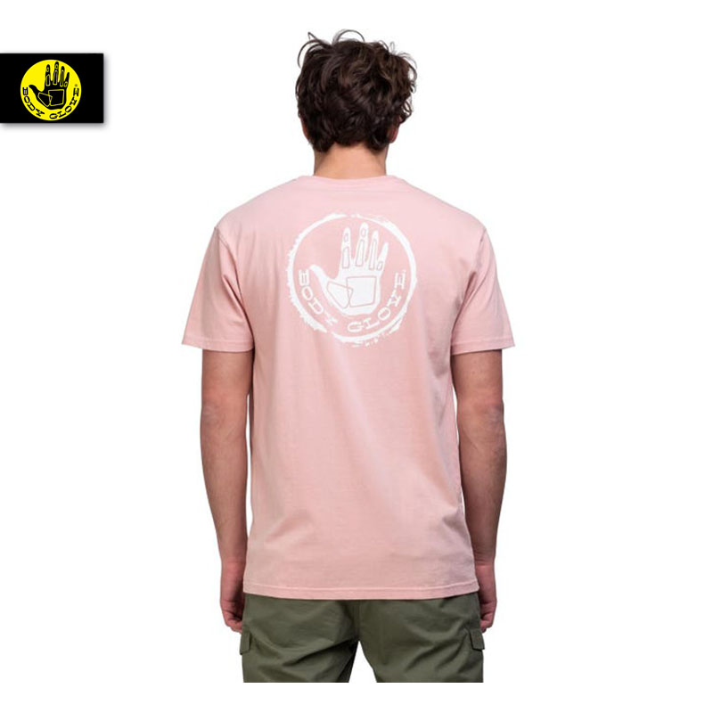 BODY GLOVE T-SHIRT STAMPED TEE ROSE