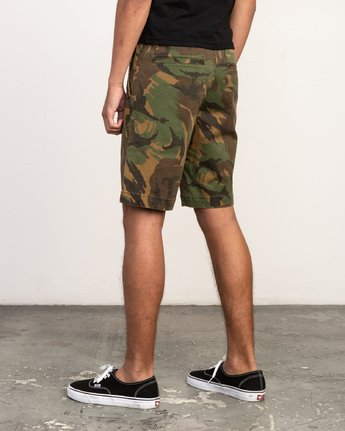 WEEKEND STRETCH SHORT CAMO