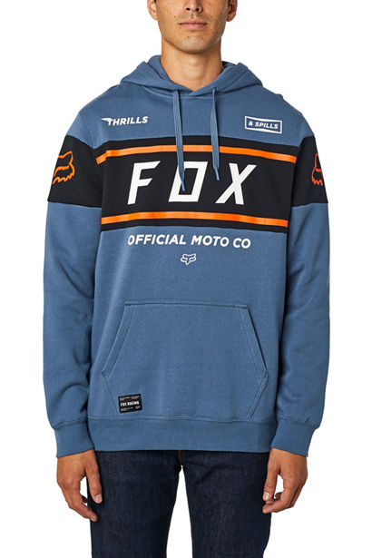 OFFICIAL PULLOVER FLEECE BLU STL
